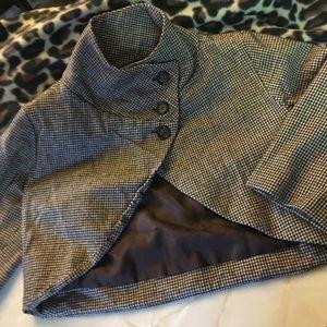 KIMONO Atelier de Manille Check Jacket Sz S